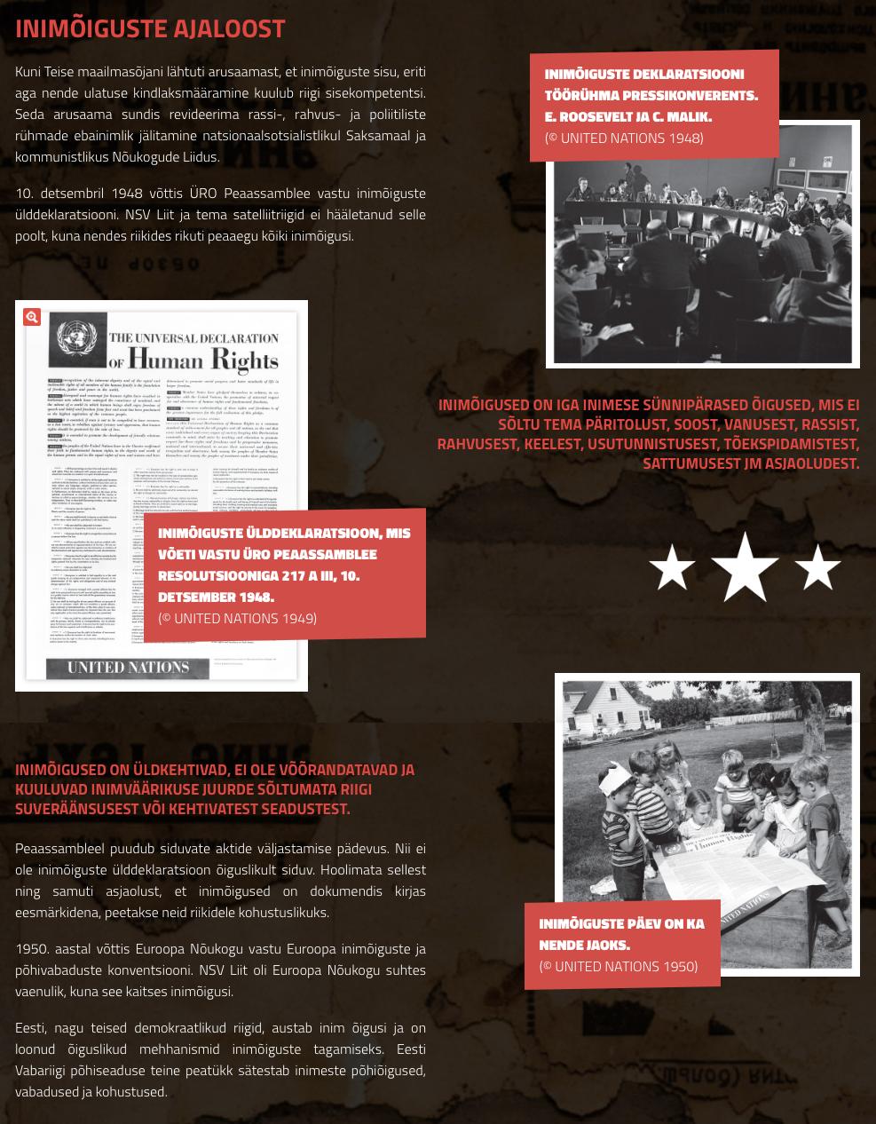inimoiguste ajalugu