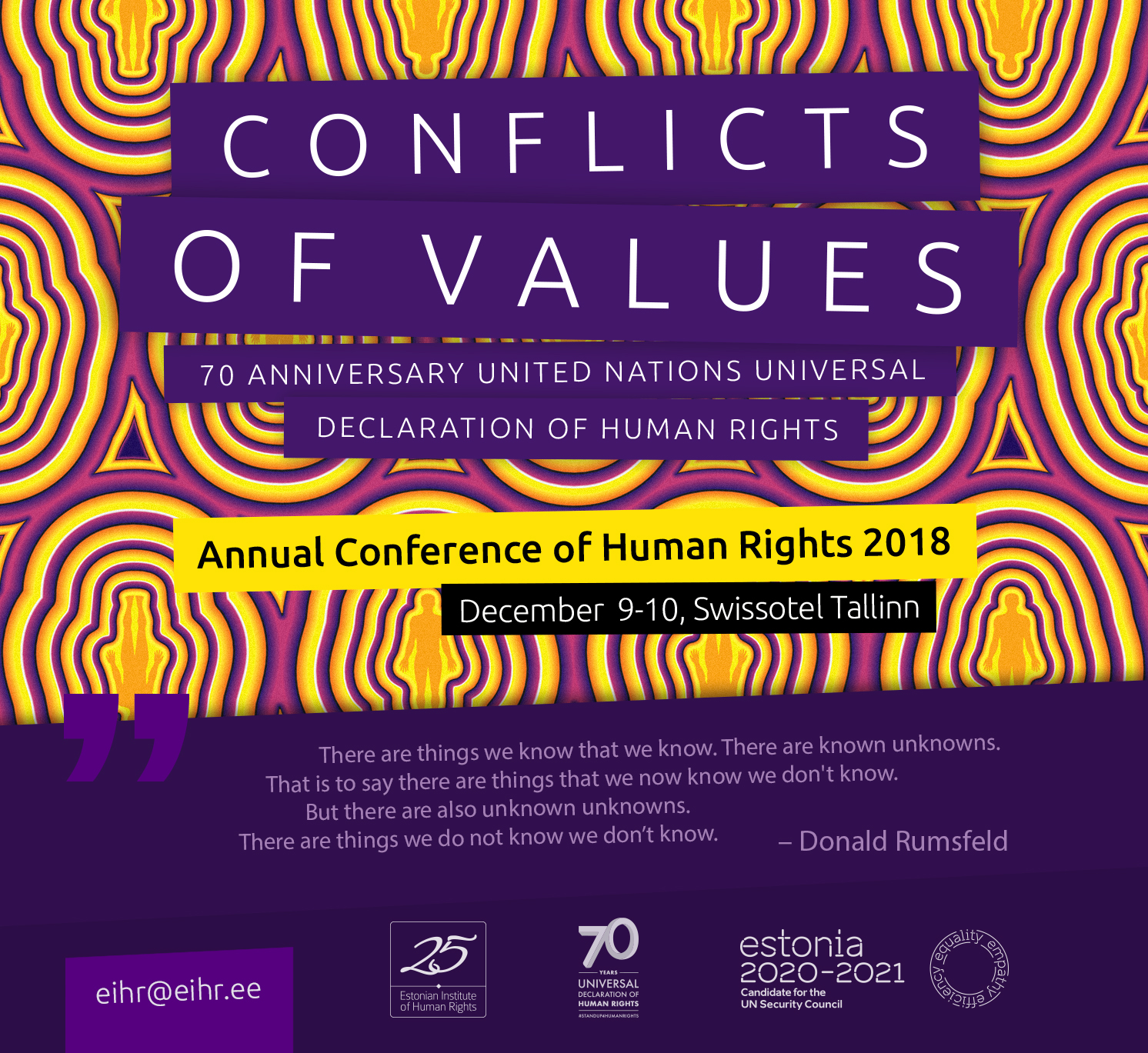 Conference of Human Rights 2018