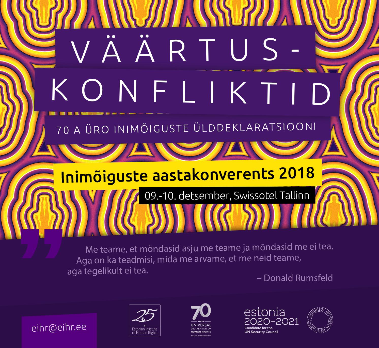 Inimõiguste Aastakonverents 2018